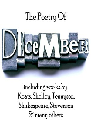 cover image of The Poetry of December