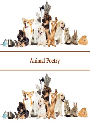 cover image of The Poetry of Animals