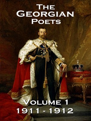 cover image of The Georgian Poets, Volume 1