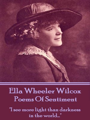 cover image of Poems of Sentiment