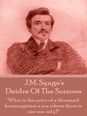 cover image of Deidre of the Sorrows