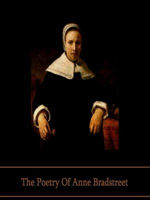 cover image of The Poetry of Anne Bradstreet