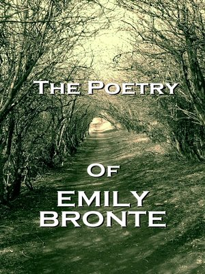cover image of The Poetry of Emily Jane Brontë