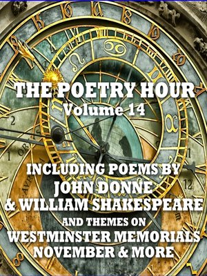 cover image of The Poetry Hour, Volume 14