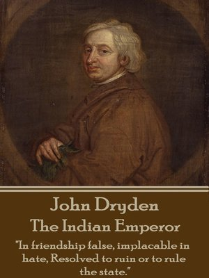 cover image of The Indian Emperor
