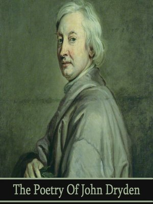 cover image of The Poetry of John Dryden