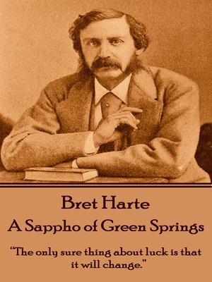 cover image of A Sappho of Green Springs