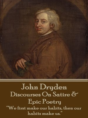 cover image of Discourses on Satire & Epic Poetry