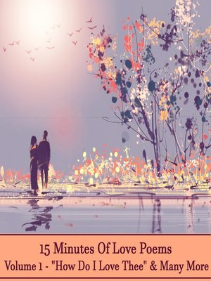 cover image of 15 Minutes of Love Poems, Volume 1