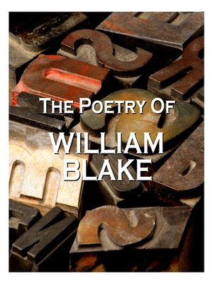 cover image of The Poetry of William Blake