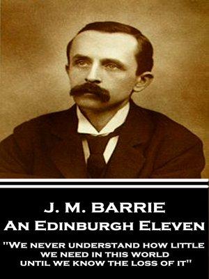 cover image of An Edinburgh Eleven