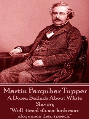 cover image of A Dozen Ballads about White Slavery