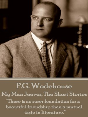 cover image of My Man Jeeves, the Short Stories