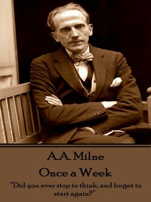 cover image of Once a Week