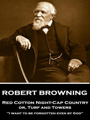 cover image of Red Cotton Night-Cap Country or, Turf and Towers