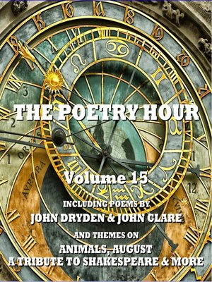 cover image of The Poetry Hour, Volume 15