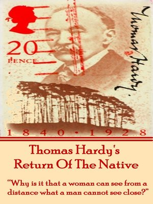 cover image of Return of the Native, by Thomas Hardy