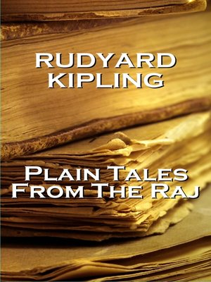 cover image of Plain Tales from the Raj