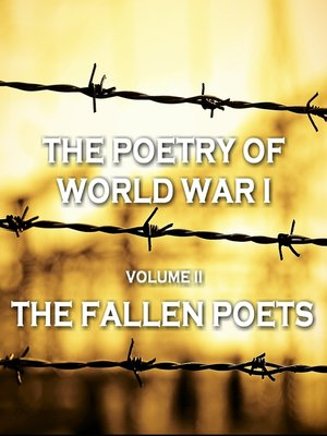 cover image of The Poetry of World War I, Volume II