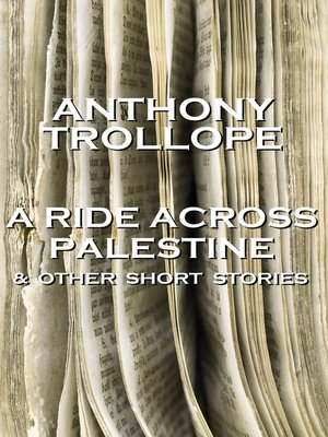 cover image of A Ride Across Palestine & Other Short Stories