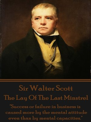 cover image of The Lay of the Last Minstrel