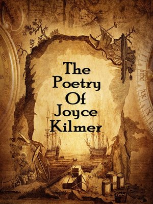 cover image of The Poetry of Joyce Kilmer