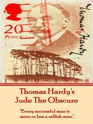 cover image of Jude the Obscure, by Thomas Hardy