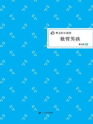 cover image of 曹文轩小说馆:独臂男孩