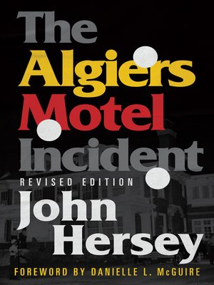 cover image of The Algiers Motel Incident