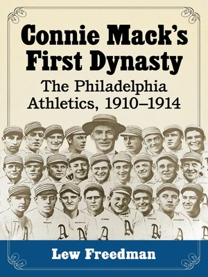 cover image of Connie Mack's First Dynasty
