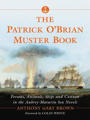 cover image of The Patrick O'Brian Muster Book
