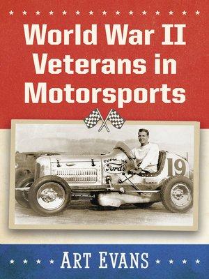 cover image of World War II Veterans in Motorsports