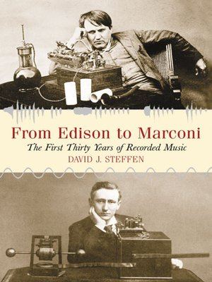 cover image of From Edison to Marconi