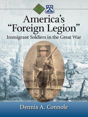 """cover image of America's """"Foreign Legion"""""""