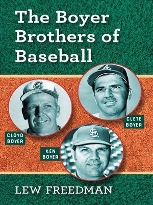cover image of The Boyer Brothers of Baseball