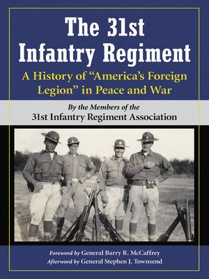 cover image of The 31st Infantry Regiment