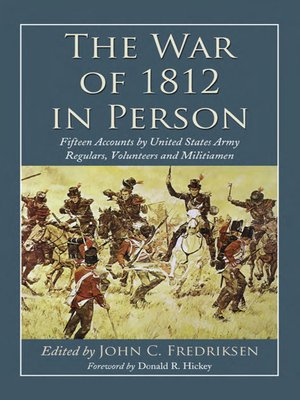 cover image of The War of 1812 in Person
