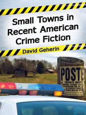 cover image of Small Towns in Recent American Crime Fiction