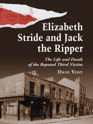 cover image of Elizabeth Stride and Jack the Ripper