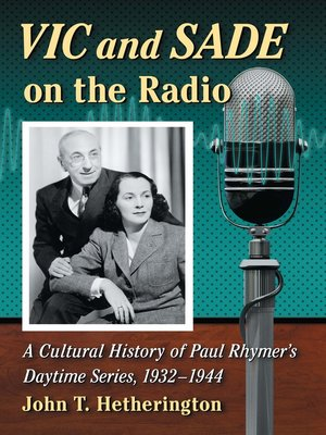 cover image of Vic and Sade on the Radio