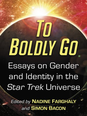 cover image of To Boldly Go