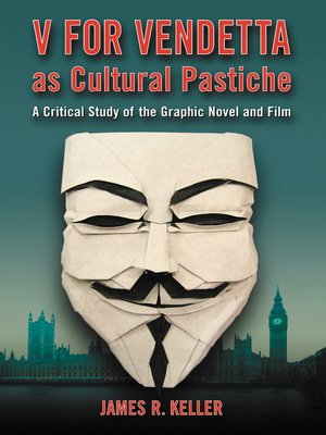 cover image of V for Vendetta as Cultural Pastiche