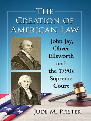 cover image of The Creation of American Law