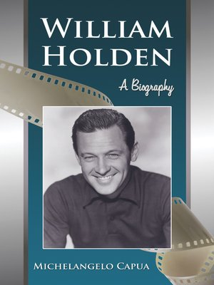 cover image of William Holden