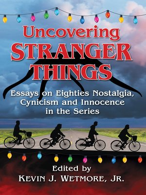 cover image of Uncovering Stranger Things