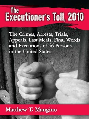 cover image of The Executioner's Toll, 2010