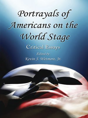 cover image of Portrayals of Americans on the World Stage