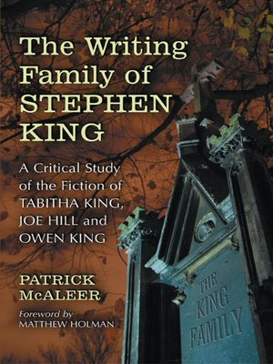 cover image of The Writing Family of Stephen King