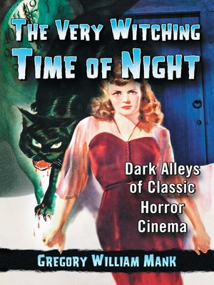 cover image of The Very Witching Time of Night