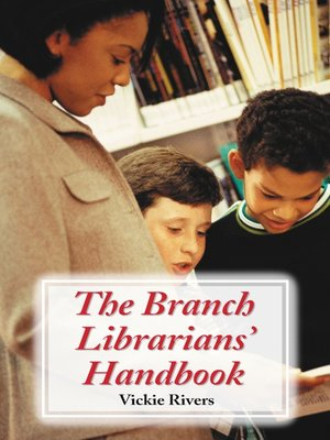 cover image of The Branch Librarians' Handbook